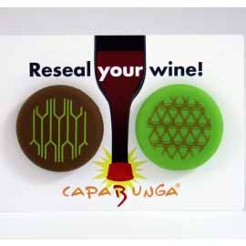 Reusable Crackers & Wine Lid