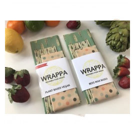 Wrappa Vegan Food Wrap