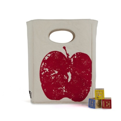 Fluf Organic Lunch Bag - Red Apple