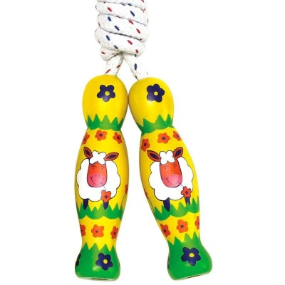 Fair Trade Skipping Rope - Sheep