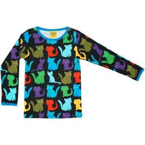 DUNS Cats Long Sleeve Top