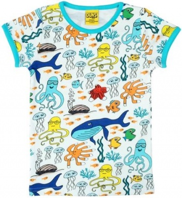 DUNS Sea Life Short Sleeve Top