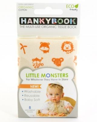 HankyBook Little Monsters Single - Animals
