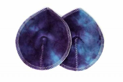 HER Bamboo Contoured Washable Breast Pads - Hard Candy