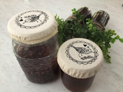 Reusable Mason Jar Covers