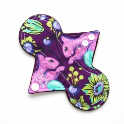 7'' Reusable Panty Liner - Squirrel