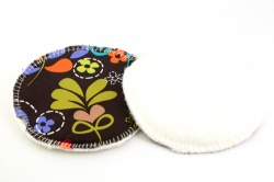 Eco Rainbow 7'' XL Breast Pads - Birds of Normandy