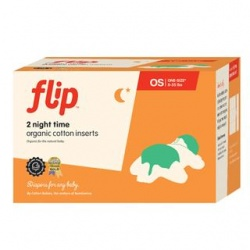 Flip Night Time Organic Insert - 2 Pack