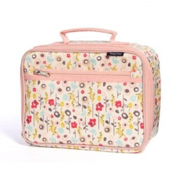 Organic Cotton Insulated Lunch Box - Bloom
