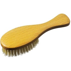 Natural Baby Brush - Goats Hair