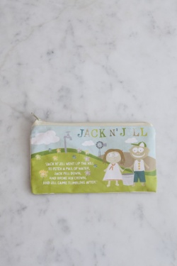 Jack N' Jill Sleepover Bag - Natural Cotton