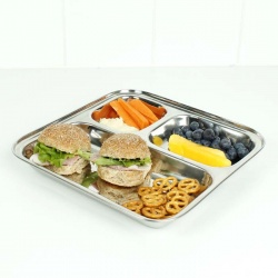 Square Stainless Steel Divided Plate