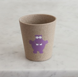 Jack N' Jill Rinse/Storage Cup- Hippo