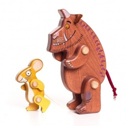 Gruffalo and Mouse Wooden Characters