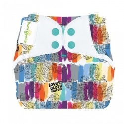 BumGenius Elemental Organic Nappy - Love
