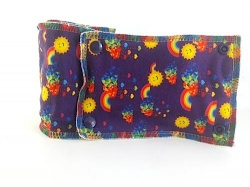 Family Cloth Roll - Suns & Rainbows (Cotton Jersey & Bamboo Terry)