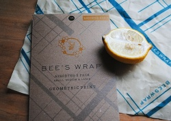 Bee's Wrap - Geometric Print Assorted Set of 3 Wraps (S, M, L)