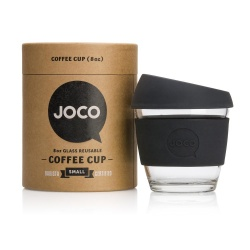 JOCO Cup Reusable Coffee Cup 8oz - Black