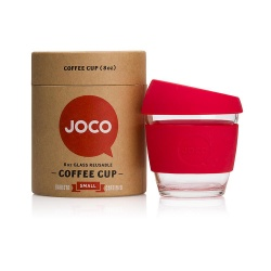 JOCO Cup Reusable Coffee Cup 8oz - Red