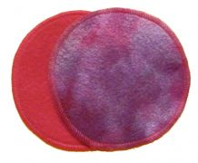 Honour Your Flow Bamboo Fleece Breast Pads - Purple Sundae with PUL