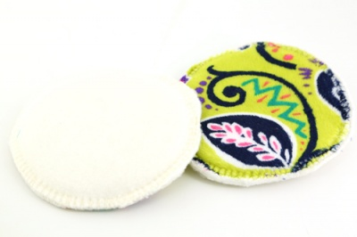 Eco Rainbow 7'' XL Breast Pads - Spice Market