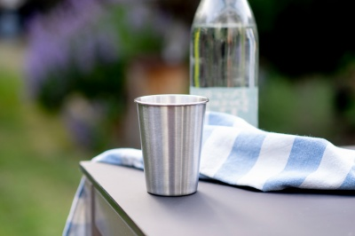 British Stainless Steel Cups - Half Pint 350ml