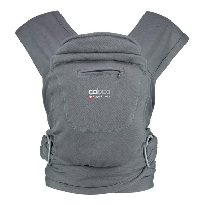 Caboo and Organic Baby Carrier - Pewter