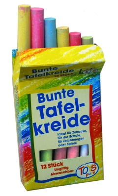 Set of 12 Coloured Chalks