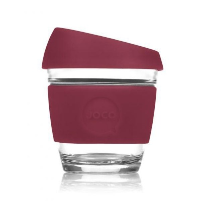 JOCO Cup Reusable Coffee Cup 8oz - Ruby Wine
