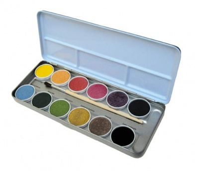Children's Organic Watercolour Paints