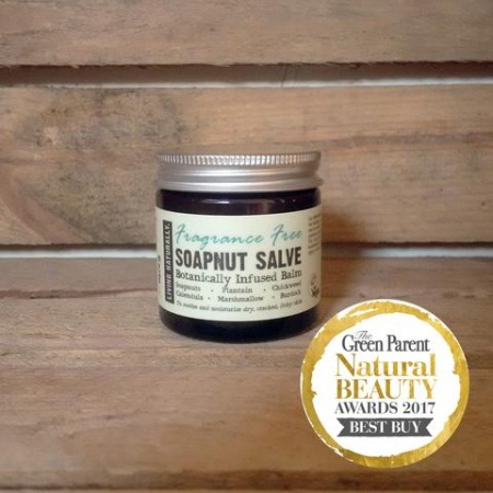 Organic Soapnut Salve - Fragrance Free 60ml