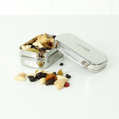 Mini Rectangle Stainless Steel Container