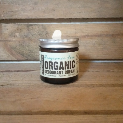 Soap Nuts Organic Deodorant Cream
