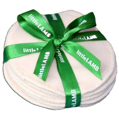 5 Pairs of Washable Breast Pads - With Mini Wash Bag