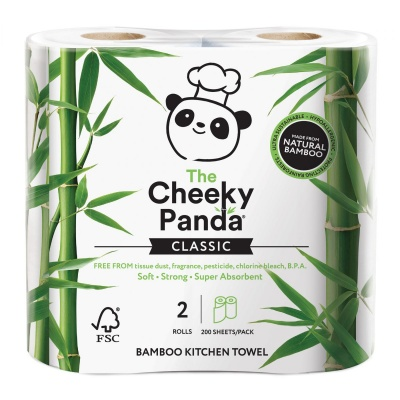 2 Pack of Bamboo Kitchen Roll