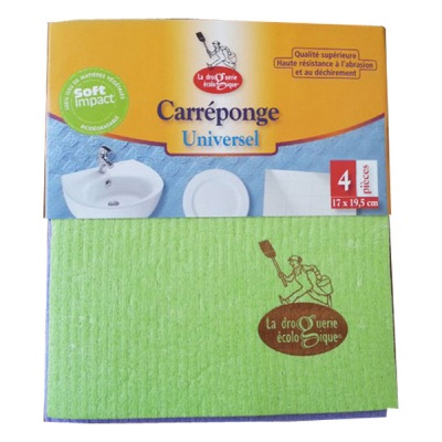 Compostable Cellulose Sponge Cloths (4 Pack)