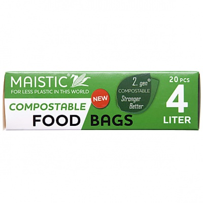 Compostable Food and Freeze Bags