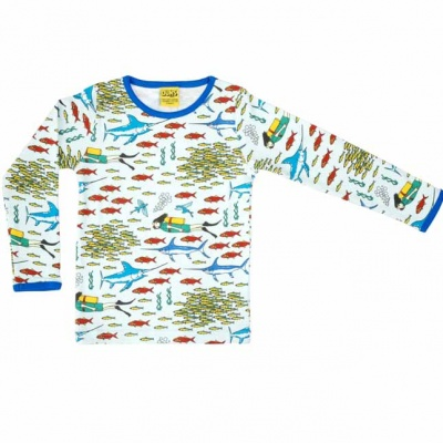 DUNS Divers World Long Sleeve Top