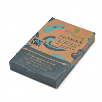 Organic Fairtrade Cotton Buds - ecoLiving