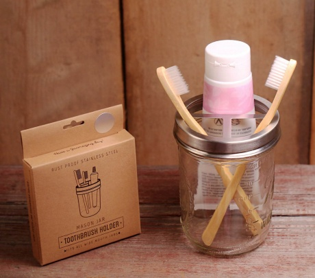 EcoJarz Toothbrush Holder