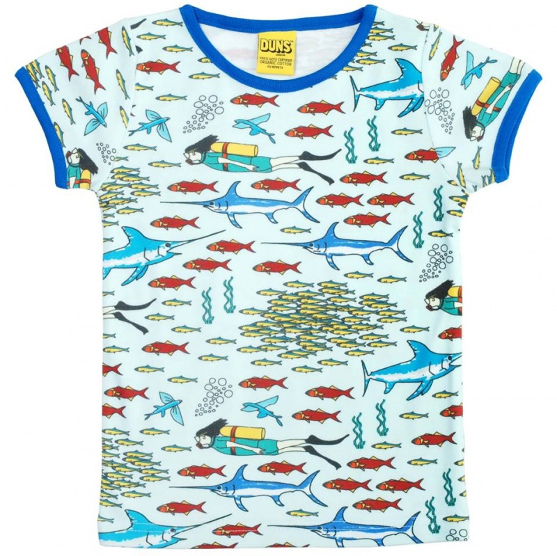 DUNS Divers World Short Sleeve Top