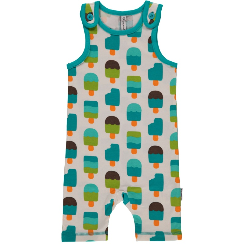 Maxomorra Ice Cream Short Dungarees