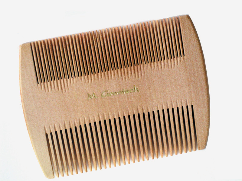 Wooden Double Lice Comb