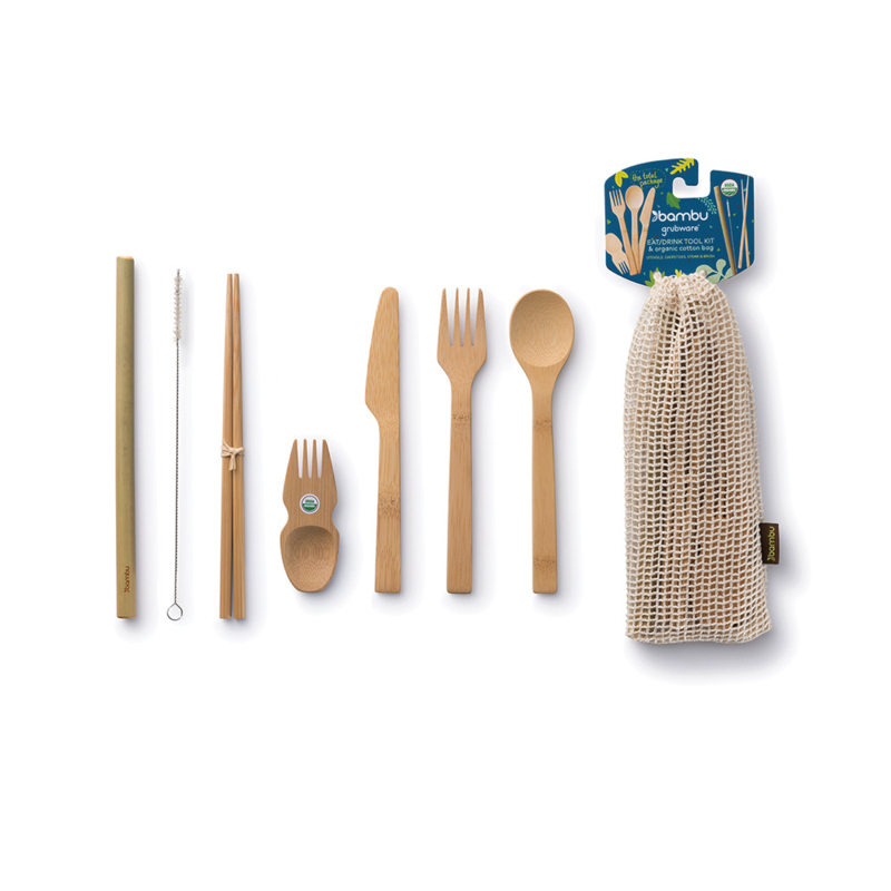 Bamboo Eat and Drink Kit