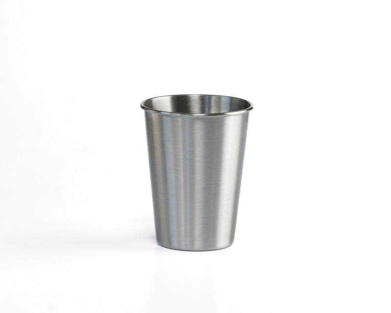 Stainless Steel Cups - Half Pint 350ml