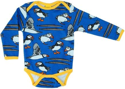 DUNS Puffin Blue Long Sleeve Body