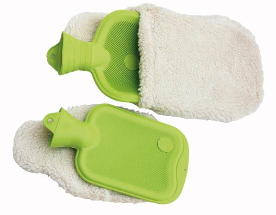 Natural Rubber Hot Water Bottle - Certified FSC