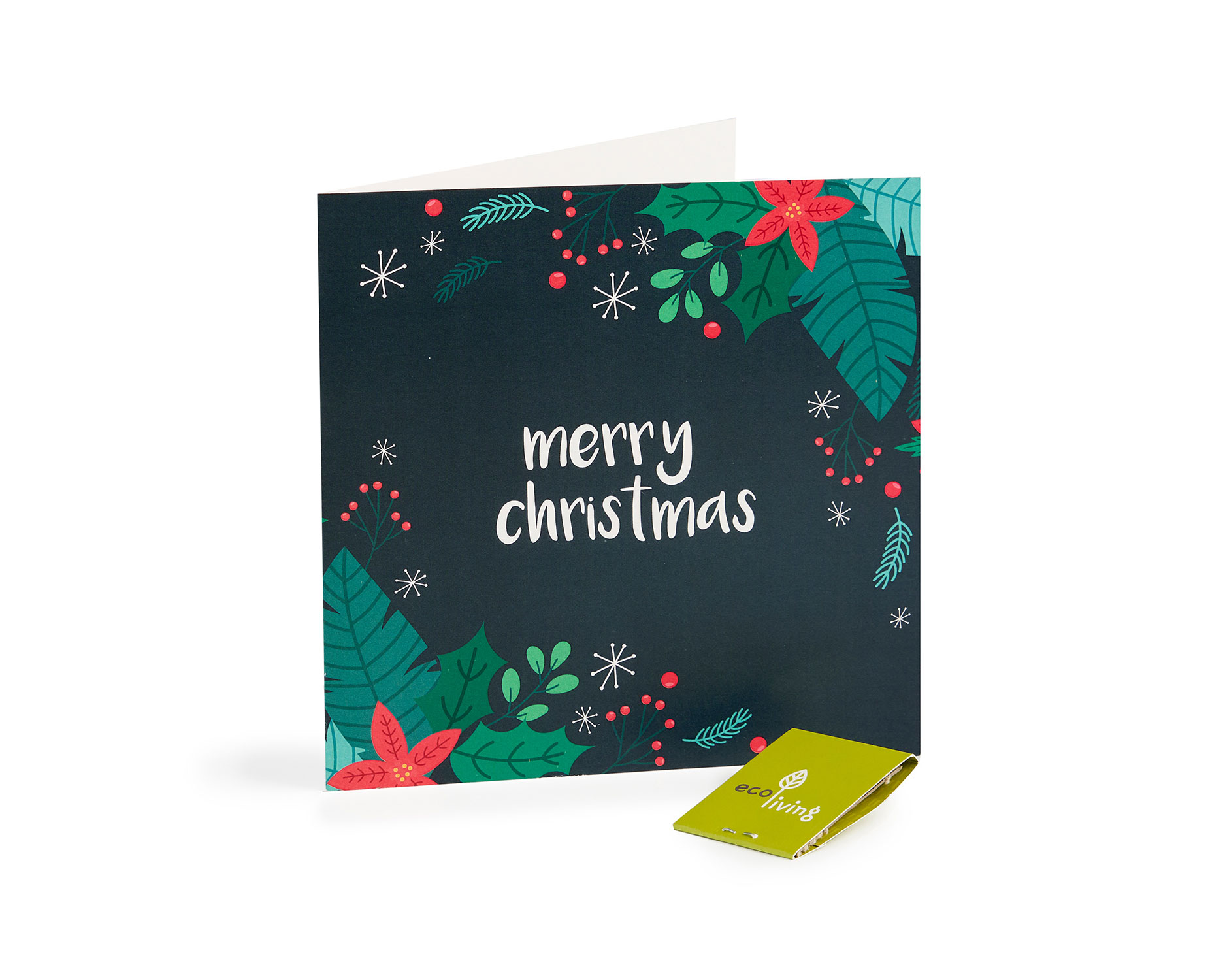 Recycled Christmas Cards - Plant Berries