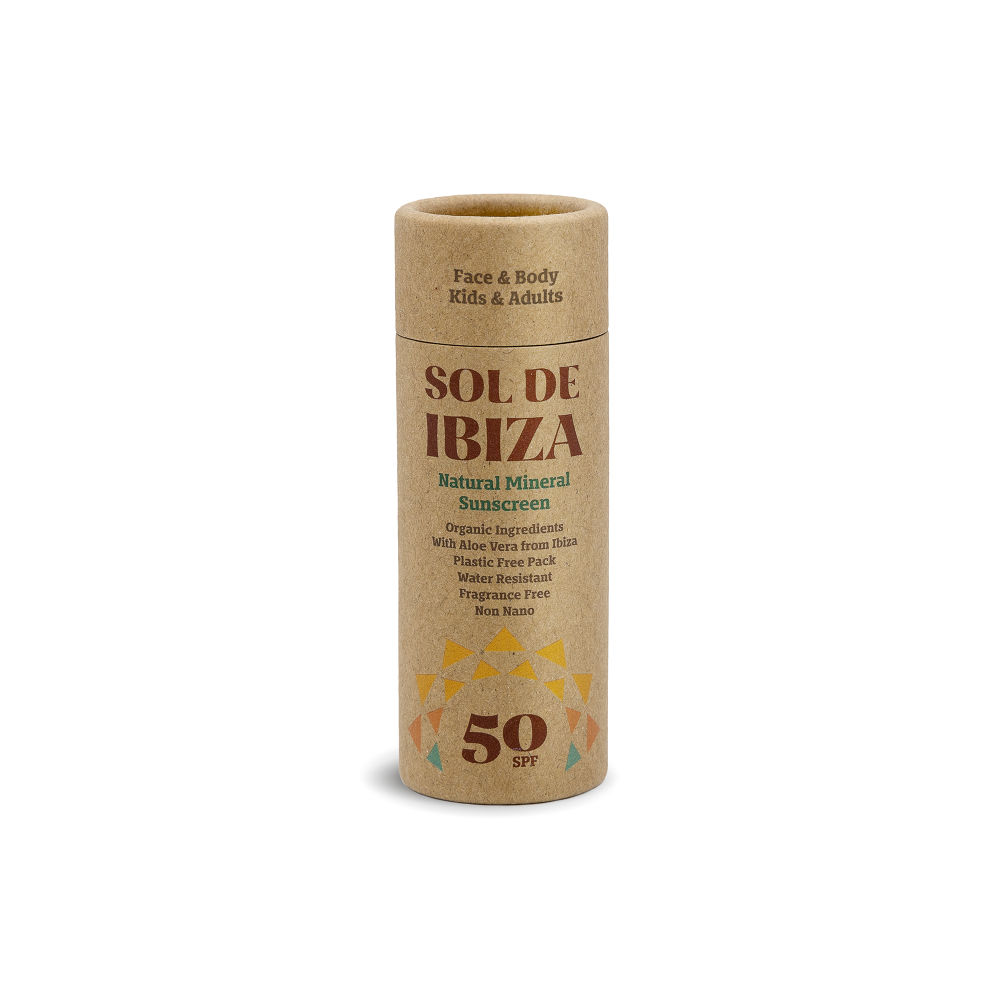 Sol De Ibiza SPF50 Vegan Sunscreen Stick