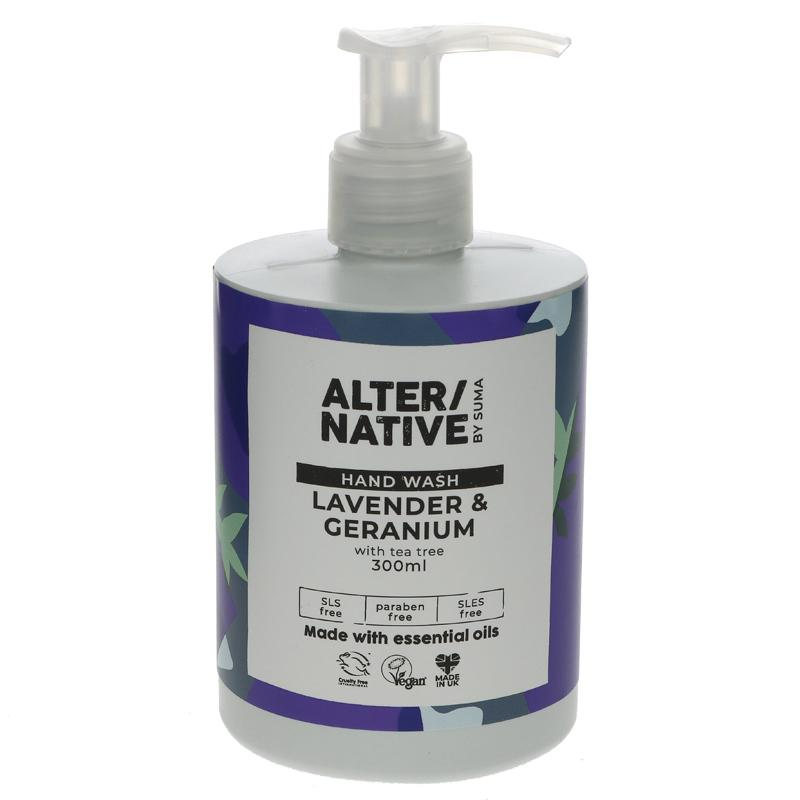 ALTER/NATIVE Lavender & Geranium with Tea Tree Handwash